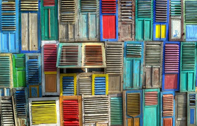 barevné okenice