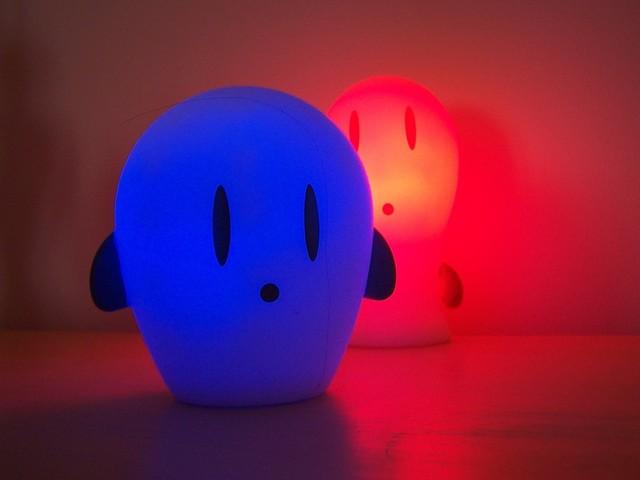 Legrační dětské lampičky udělají radost nejmenším