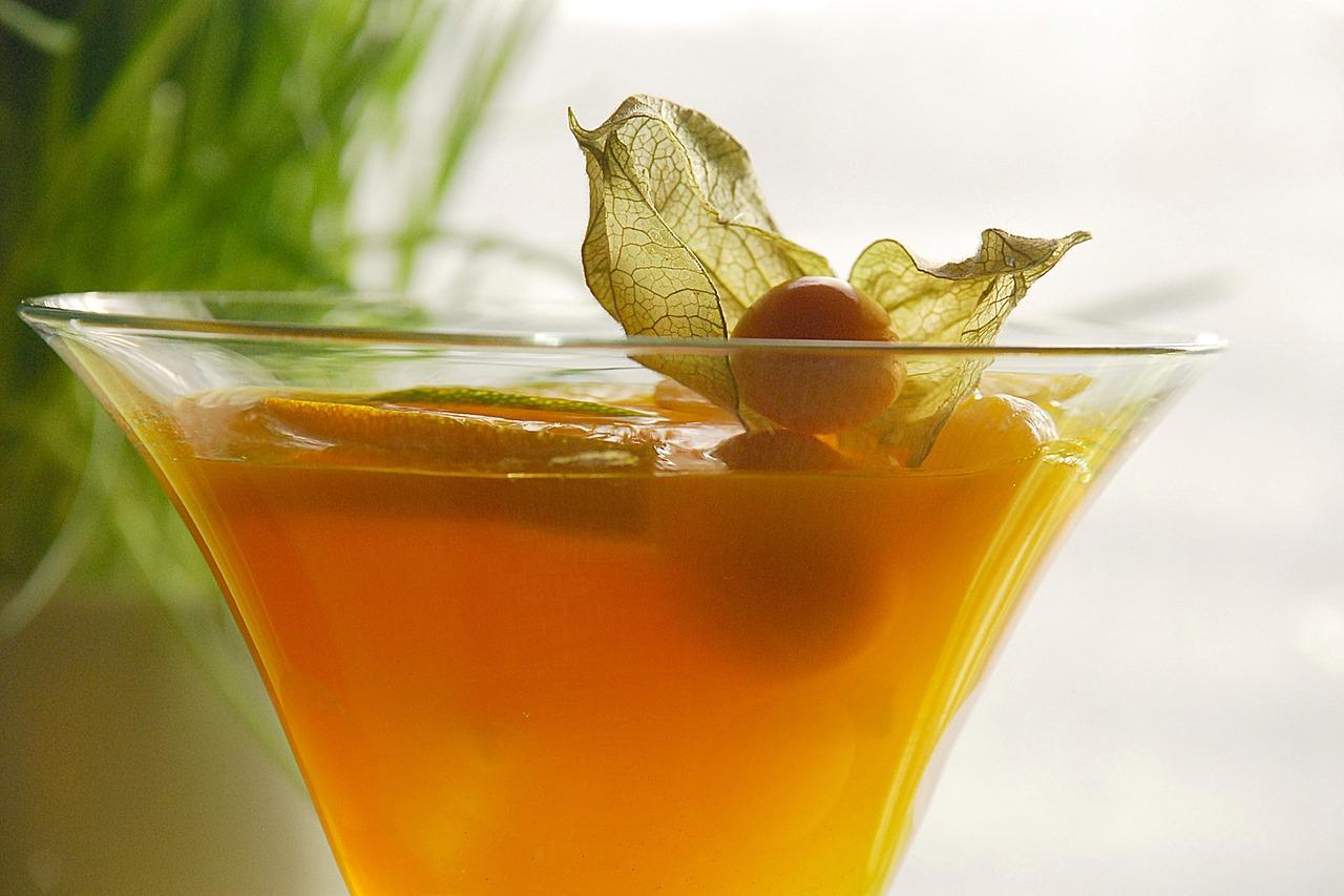 mochyně v nápoji